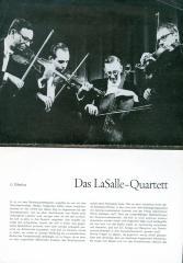 """""""Das LaSalle - Quartett"""" - article in German"""