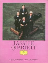 """""""LaSalle Quartet Disography"""" - Deutsche Grammophon"""
