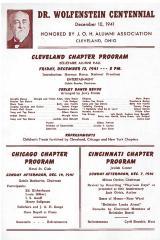 J.O.H. Alumni Bulletin December, 1941 (Cincinnati, OH)