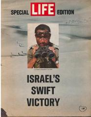 """Israel's Swift Victory"" Special Life Magazine Issue on Israel's Six Day War Victory"